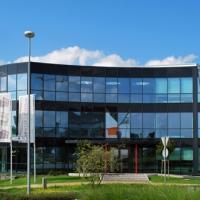 Bürogebäude nach Fertigstellung