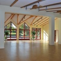 Keltenhalle, Innenansicht, Erweiterung kleiner Saal
