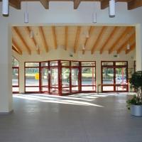 Keltenhalle, Innenansicht, Foyer